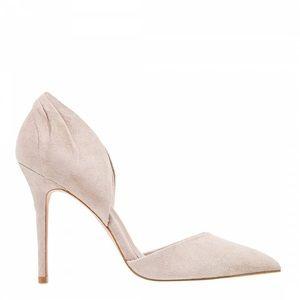 Reiss Women's Aurelia Clay Suede Point-Toe Shoe